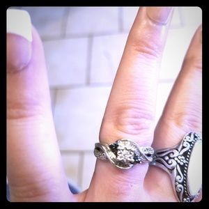 Jewelry - 💍💎Cubic zirconia sterling silver ring